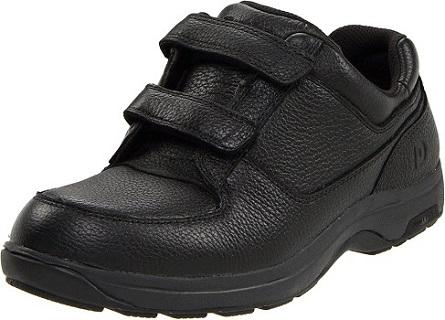 Dunham Men's Winslow Oxford Velcro Shoes for Elderly