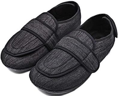 MEJORMEN Men's Diabetic Velcro Shoes for Elderly