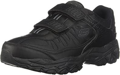 Skechers Men's Afterburn M.Fit Velcro Shoes for Elderly