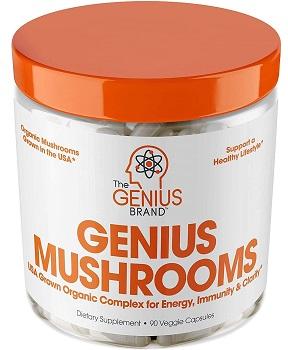 Genious mushroom- lion's mane supplement