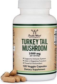 Turkey Tail Mushroom supplement